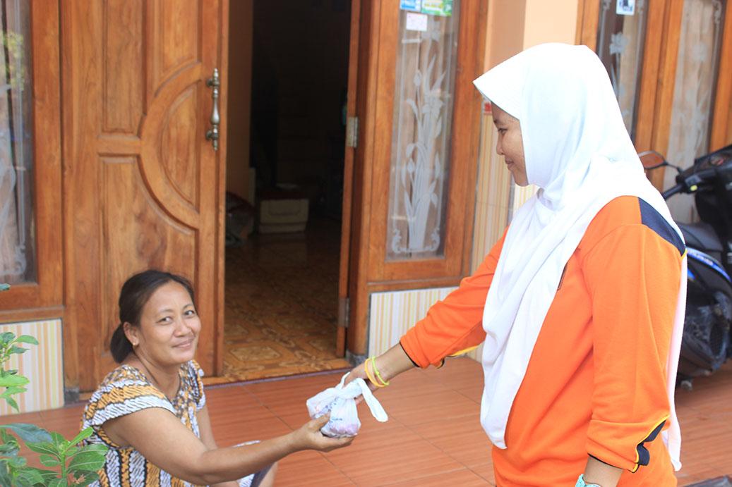 Kegiatan OSIS Penyembelihan Hewan Qurban Tahun 2016 M / 1437 H