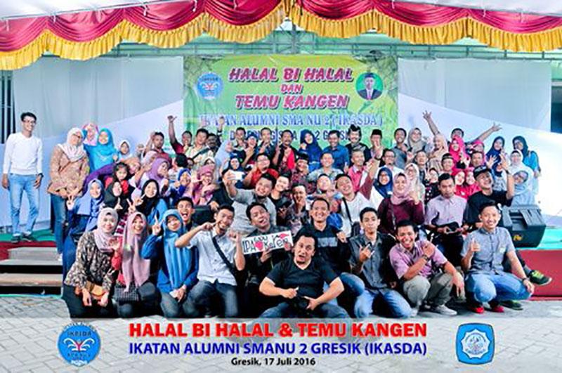 Dokumentasi Reuni Alumni SMA NU 2 Gresik Tahun 2016