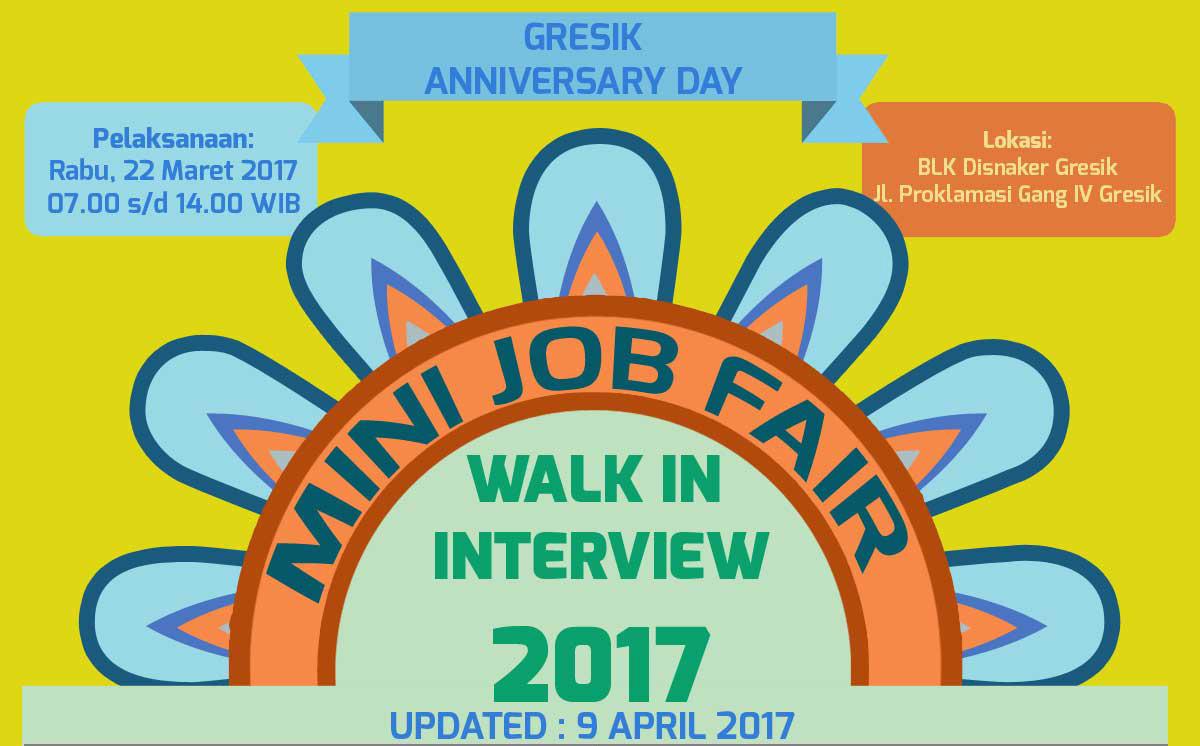 Mini Job Fair Disnaker Gresik