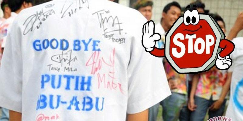 Stop Budaya Corat-Coret Seragam dan Konvoi Kelulusan