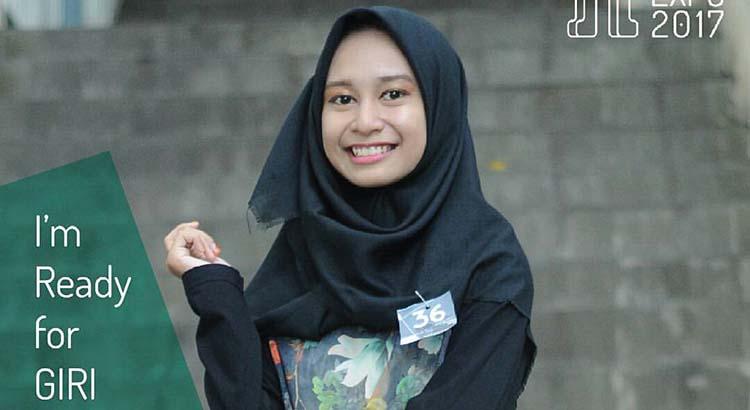 Ayo VOTE Nabila Zatadinia dan Fatma Nur Hidayati Peserta Lomba Hijab Fashion Giri Expo 2017