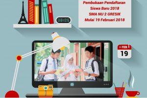 Pendaftaran Siswa Baru 2018 Sudah Dibuka…!!!