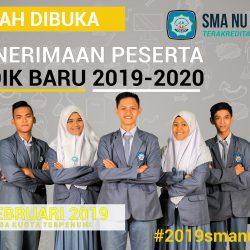 Brosur Penerimaan Peserta Didik Baru 2019-2020