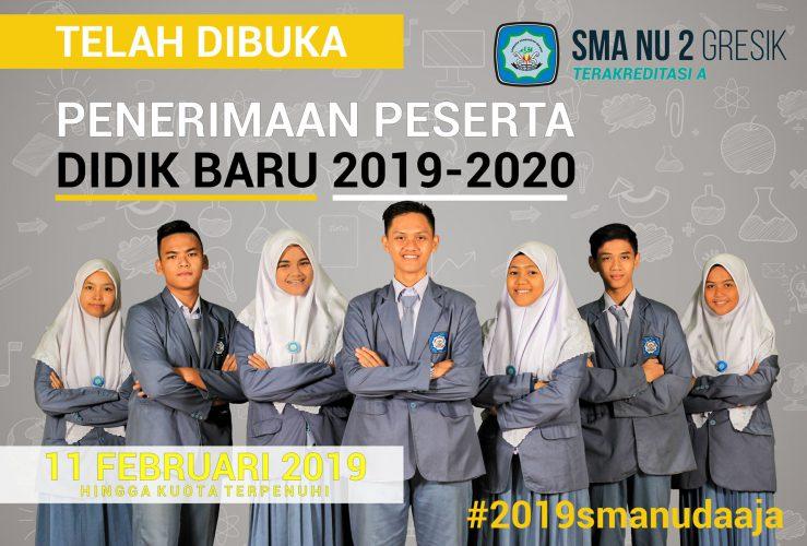 Pendaftaran Siswa Baru 2019 Sudah Dibuka…!!!